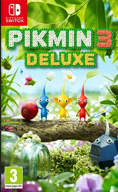 Pikmin 3 deluxe - Nintendo Switch cover
