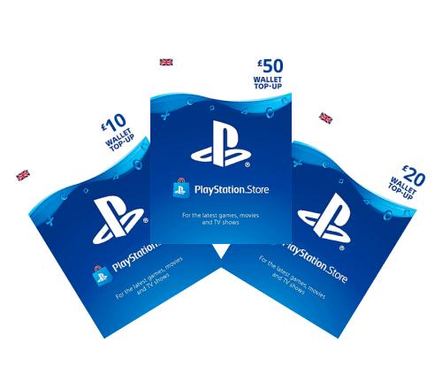 Playstation Gift Card Header