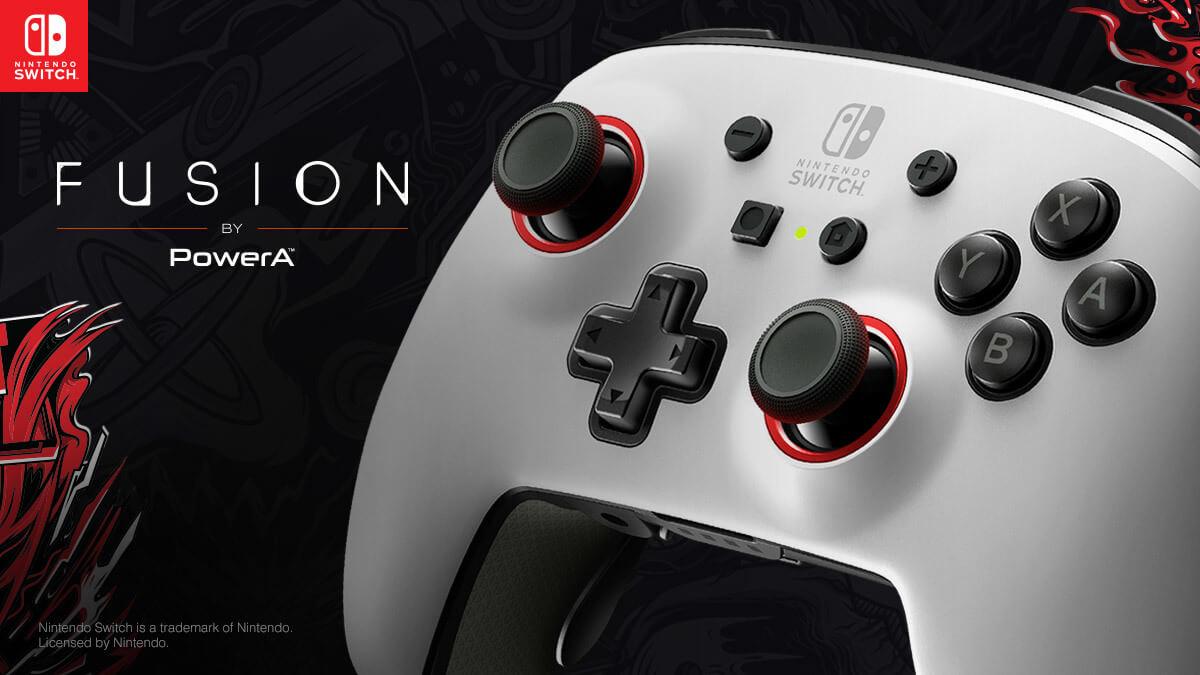 PowerA FUSION Pro Nintendo Switch controller - header image