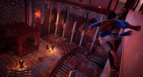 Prince of Persia wall run