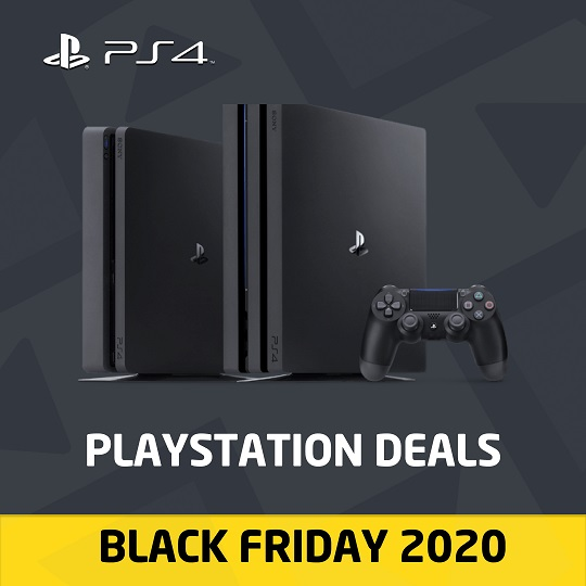 PS4 deals - Black Friday 2020