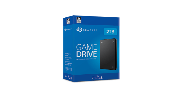 PS4 external hard drive