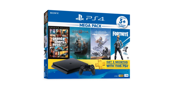 PS4 Mega Pack bundle