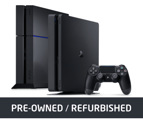Refurbished PlayStation 4 Console Deals