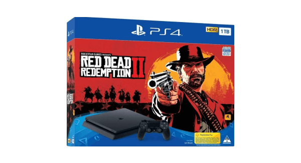 PS4 Slim Red Dead 2 bundle