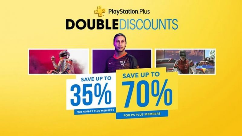 PSN Double Discounts sale