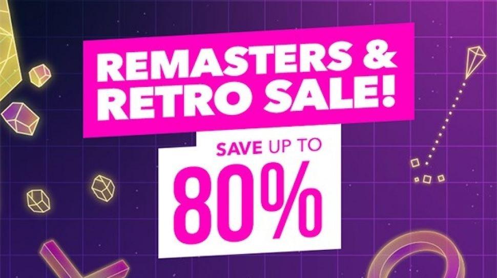 PSN Retro + Remasters sale