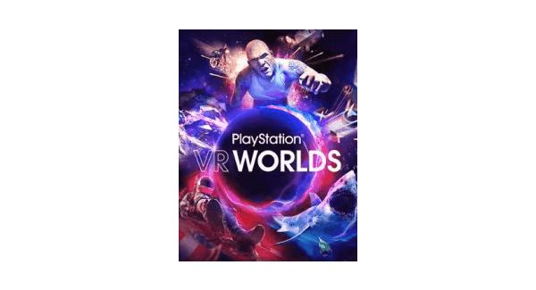 PSVR Worlds Box Art