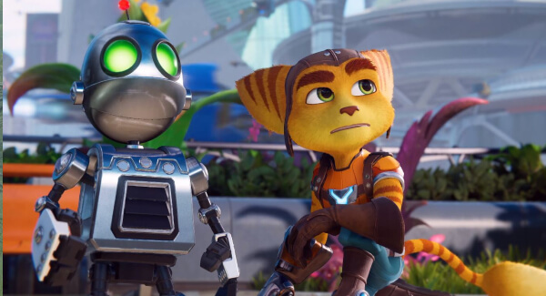 Ratchet and Clank Rift Apart duo