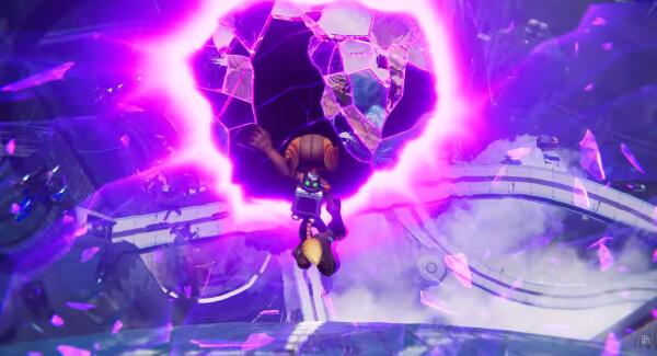 Ratchet and Clank Rift Apart portal