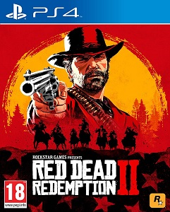 Red dead redemption 2 - ps4 cover