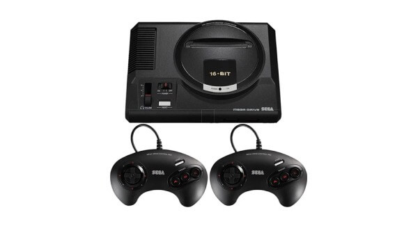 Sega Mega Drive Mini Console and Controllers