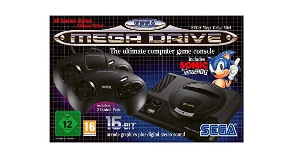 Sega Mega Drive Mini Console Box