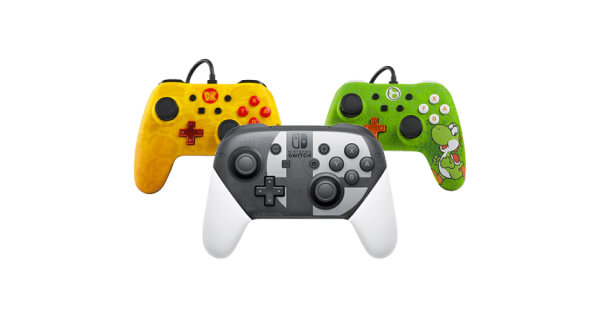 Selection of Nintendo Switch Controllers