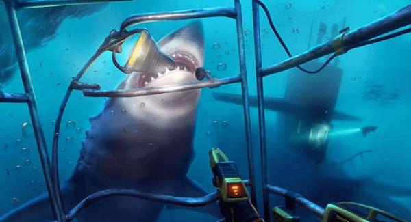 Shark game screenshot