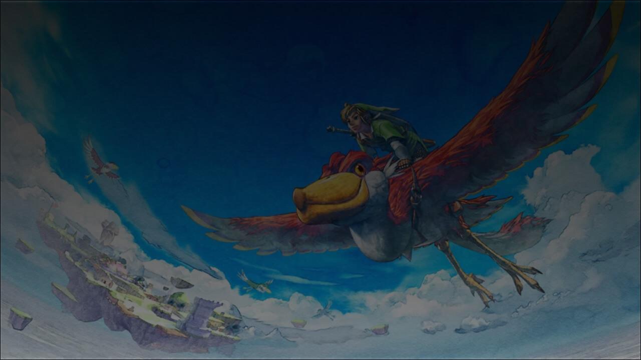 Skywards Sword - background