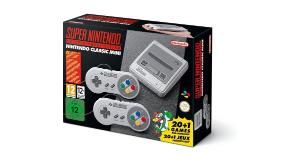 SNES Mini Console Box