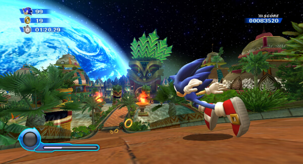Sonic Colours Ultimate - gameplay