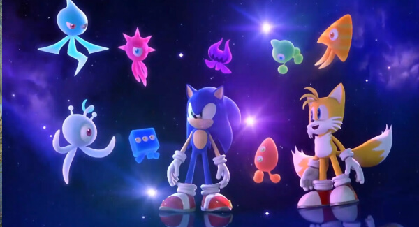 Sonic Colours Ultimate - Sonic gang