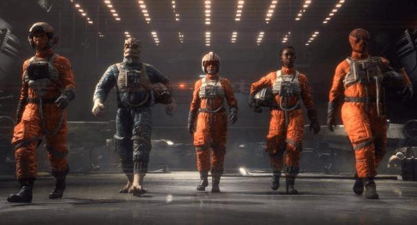 Squadrons Pilots