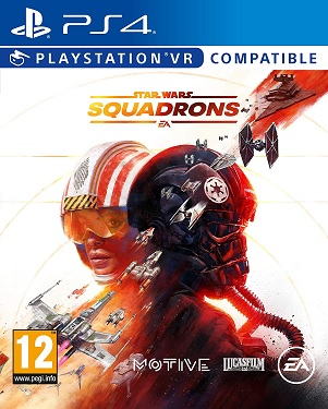 Star Wars Squadrons PS4 cover