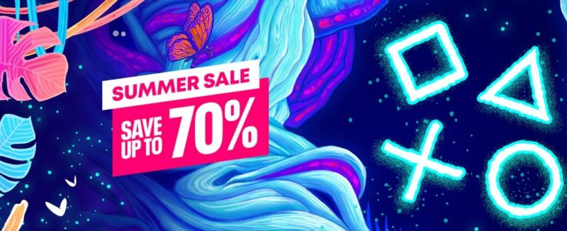Summer Sale - PSN banner
