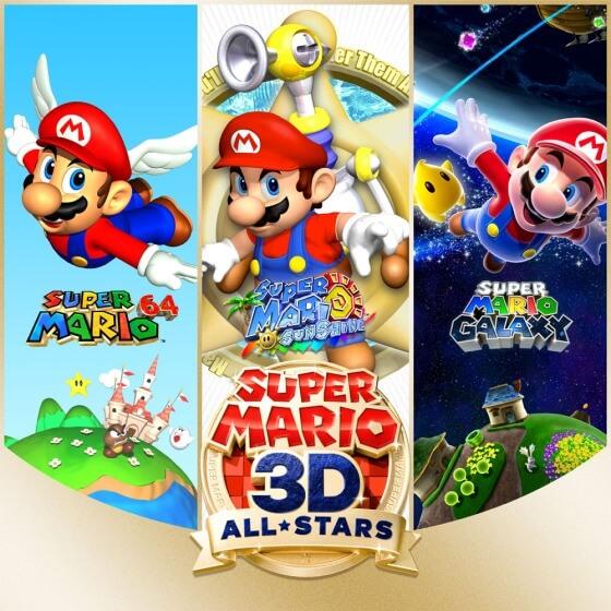Super Mario 3D All Stars Banner