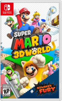 Super Mario 3D World Bowsers Fury - cover