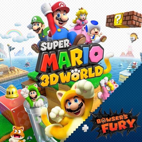 Super Mario 3D World - Homepage icon