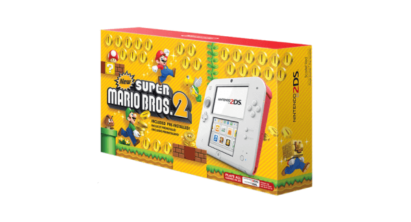 Super Mario Bros Nintendo 2DS Bundle