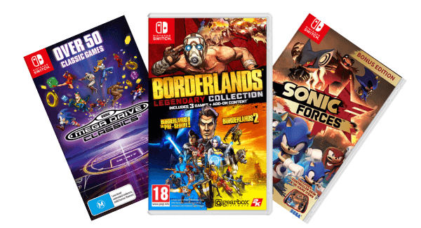 Third-party Nintendo Switch games