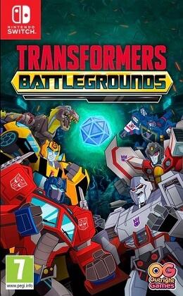 Transformers Battlegrounds - Nintendo Switch box
