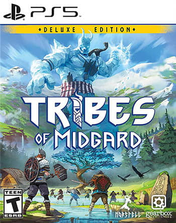 Tribes of Midgard - PS5 cover