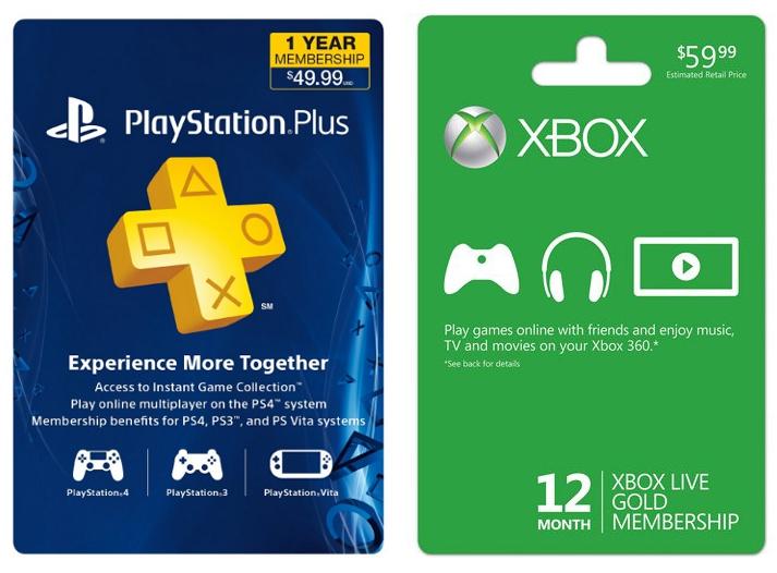Xbox Live vs PS Plus