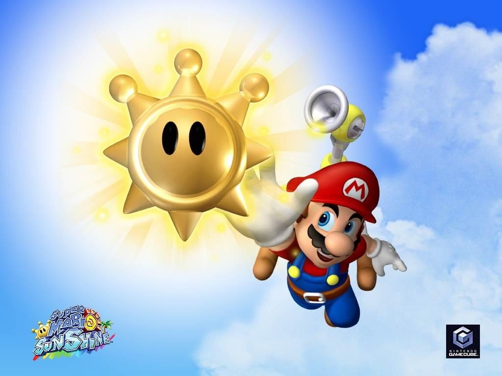 Super Mario Sunshine Switch Virtual Console