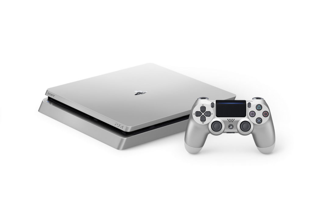 PS4 silver limited edition