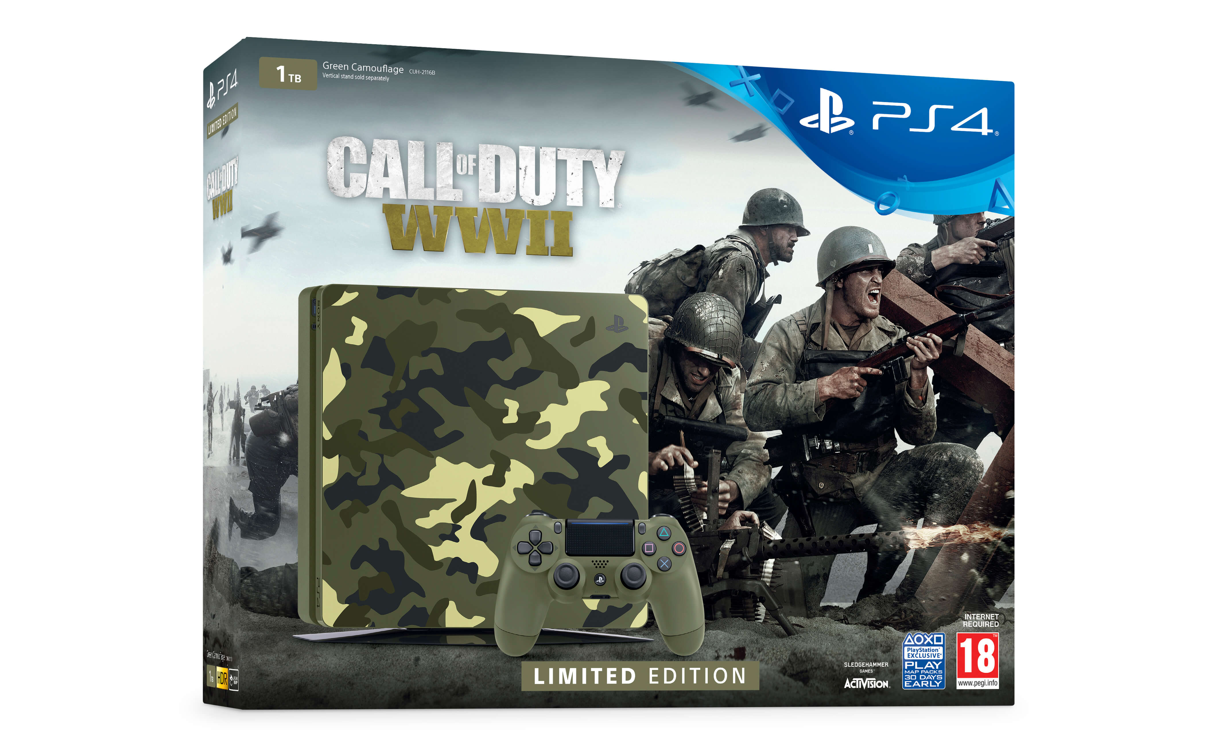 PS4 Call of Duty WWII bundle box