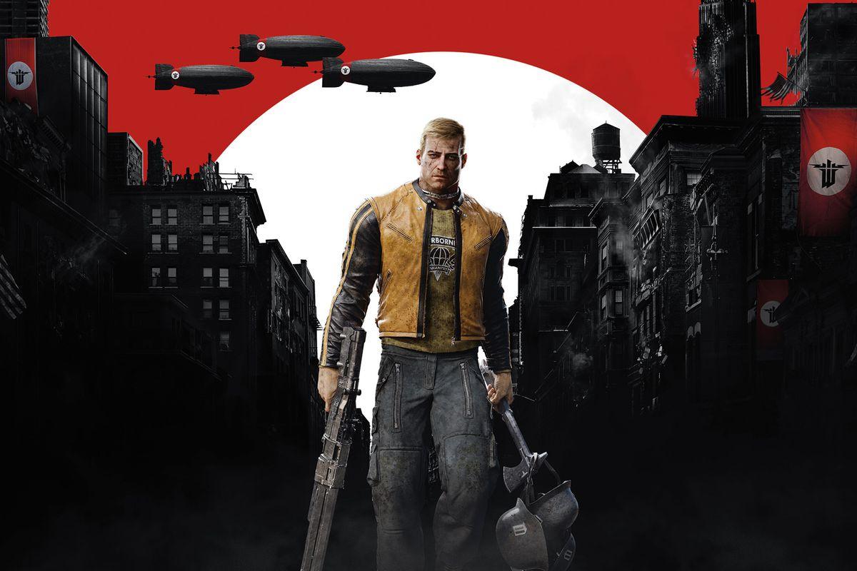 Wolfenstein 2 official artwork
