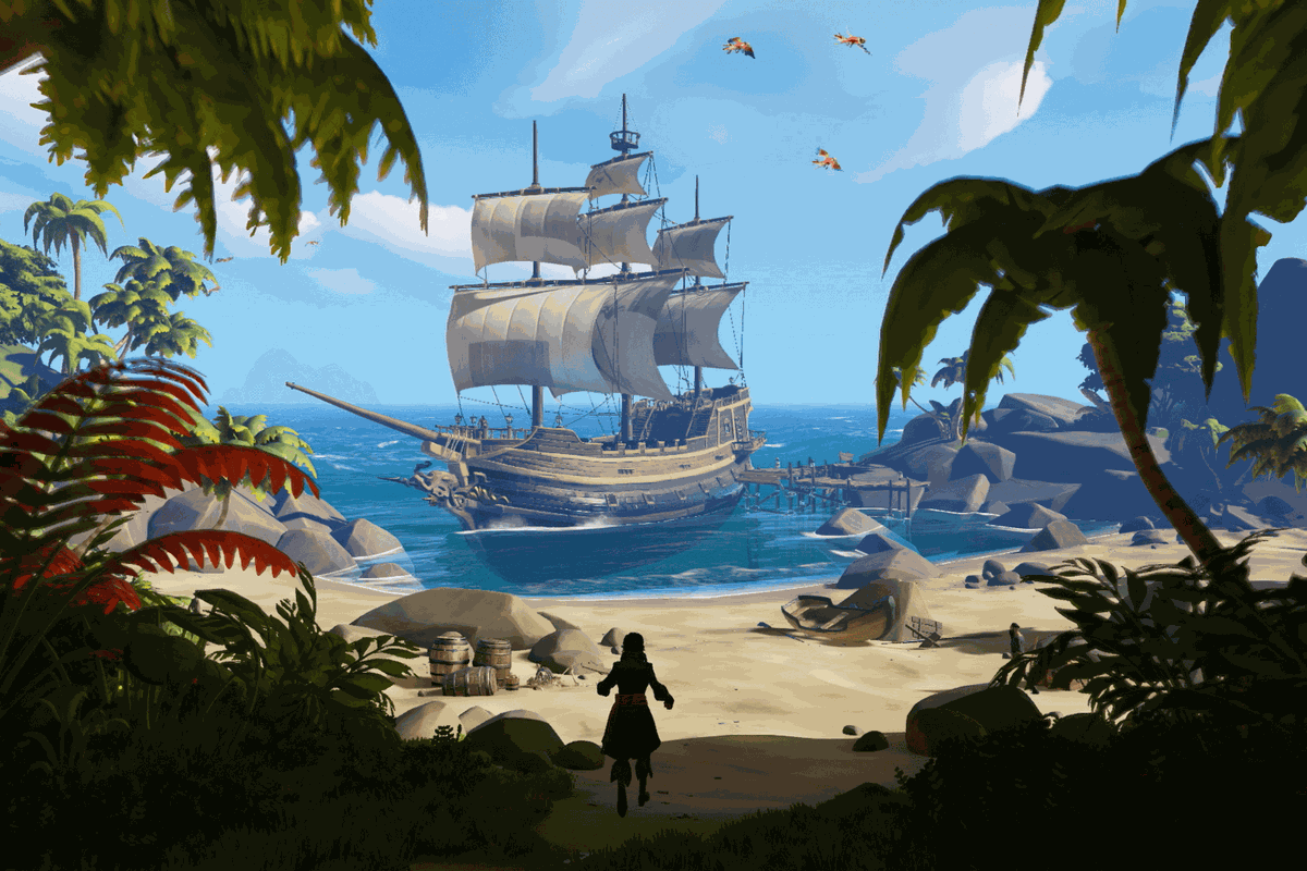 Sea of Thieves island