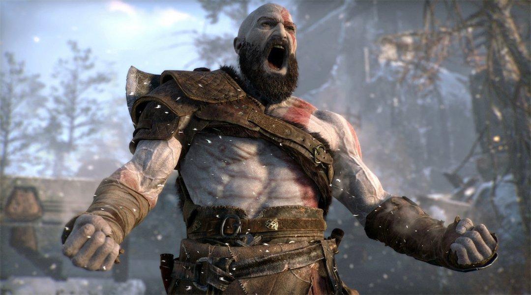 God of War Kratos screenshot