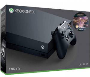 Xbox One X Sea of Thieves bundle