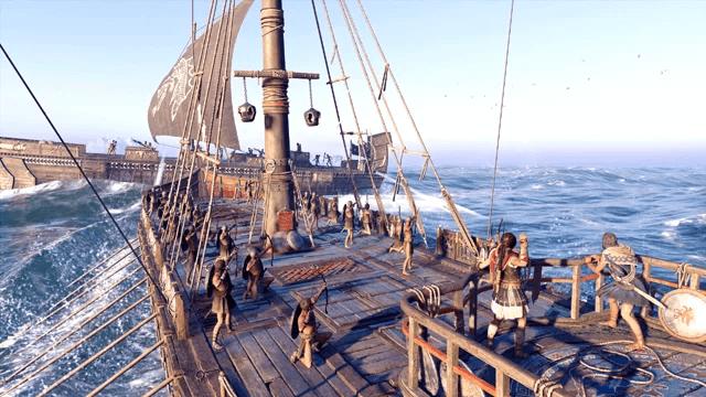 Assassin's Creed Odyssey Ocean battle