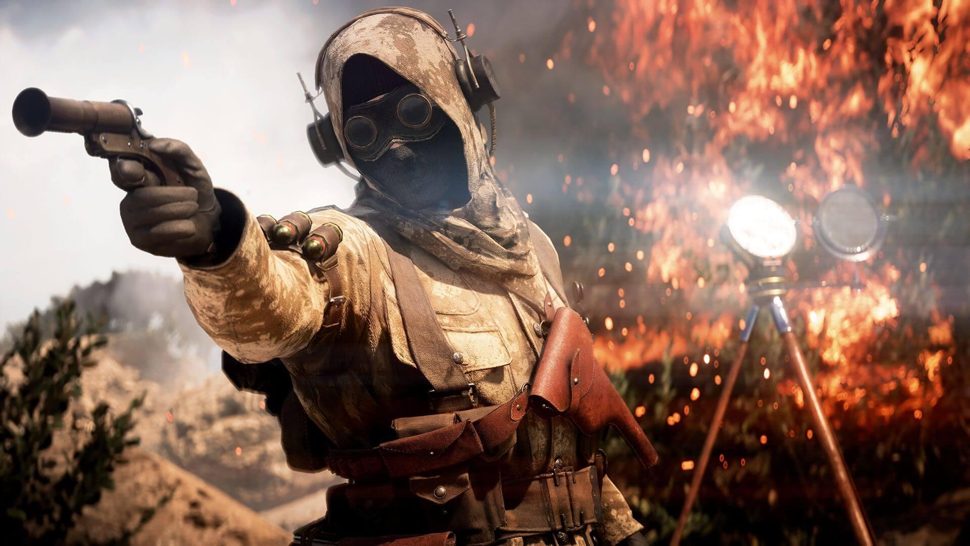 Battlefield V cinematic screenshot