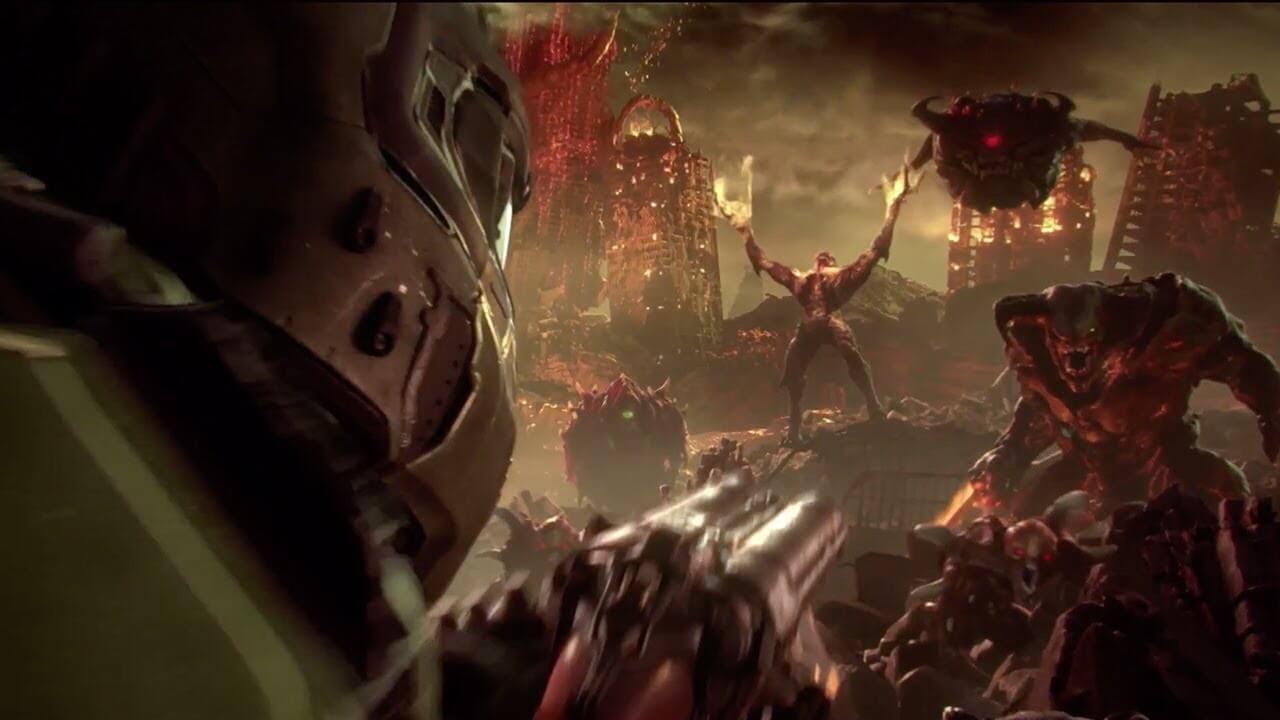 DOOM Eternal cinematic screenshots