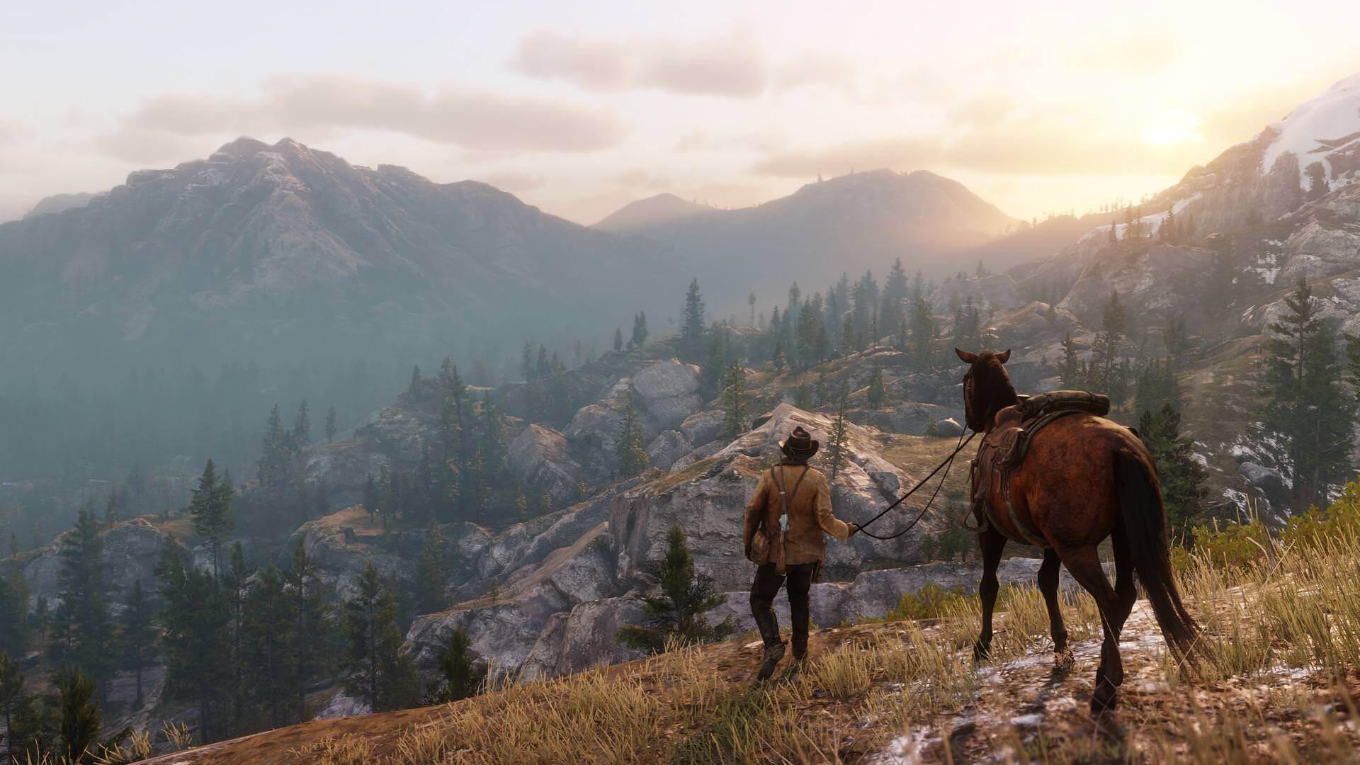 Red Dead Redemption 2 cinematic screenshot
