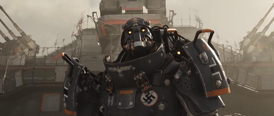 Wolfenstein Youngblood cinematic screenshot