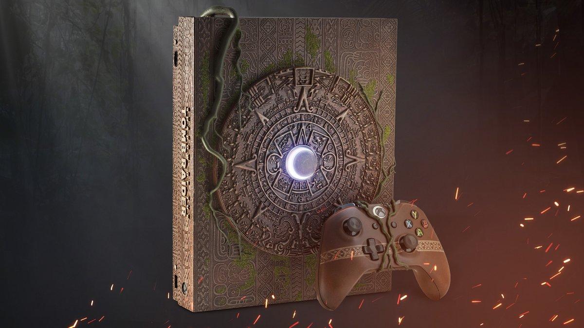Xbox One X Shadow of the Tomb Raider custom edition