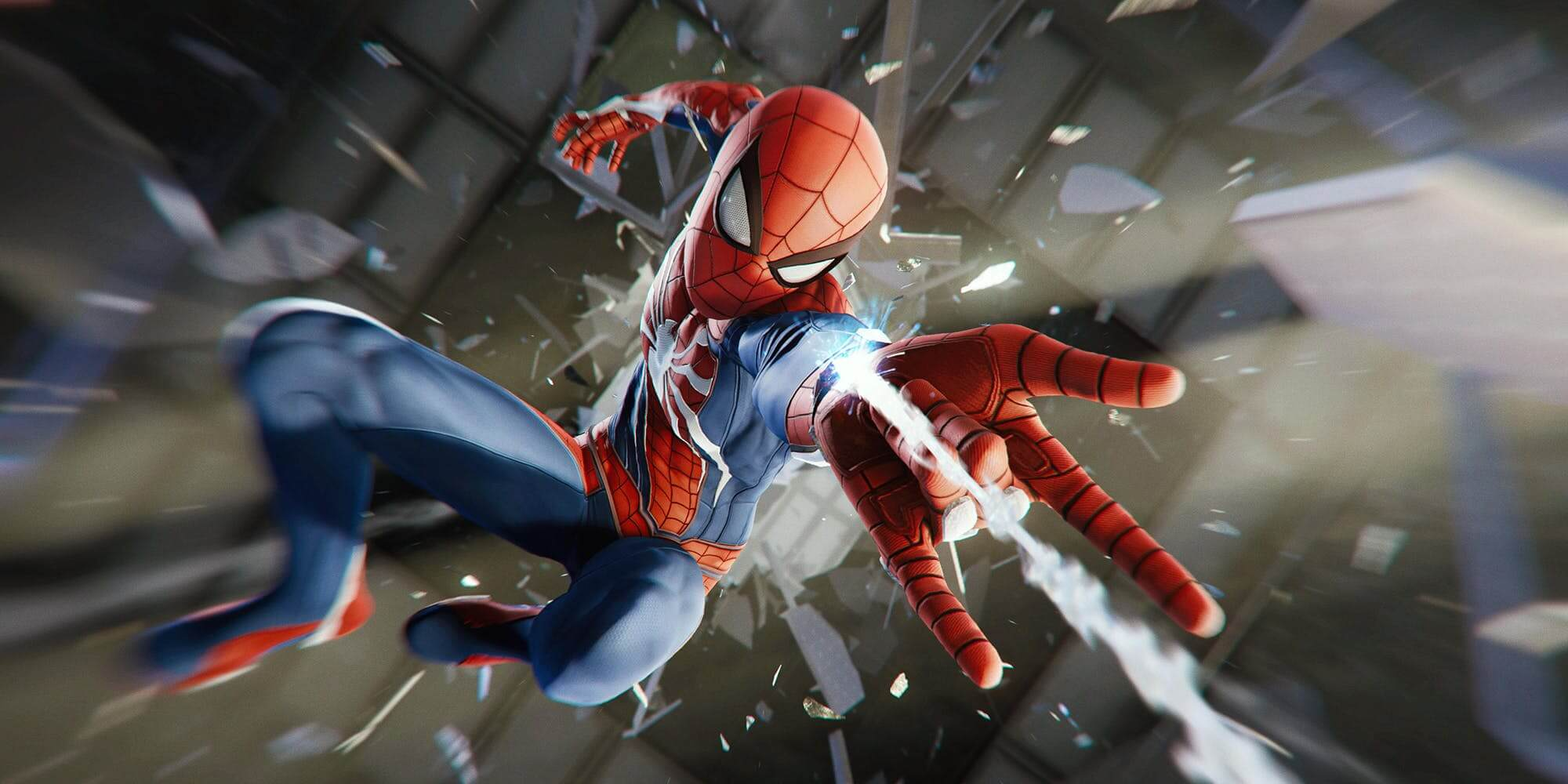 Spider-Man cinematic screenshot