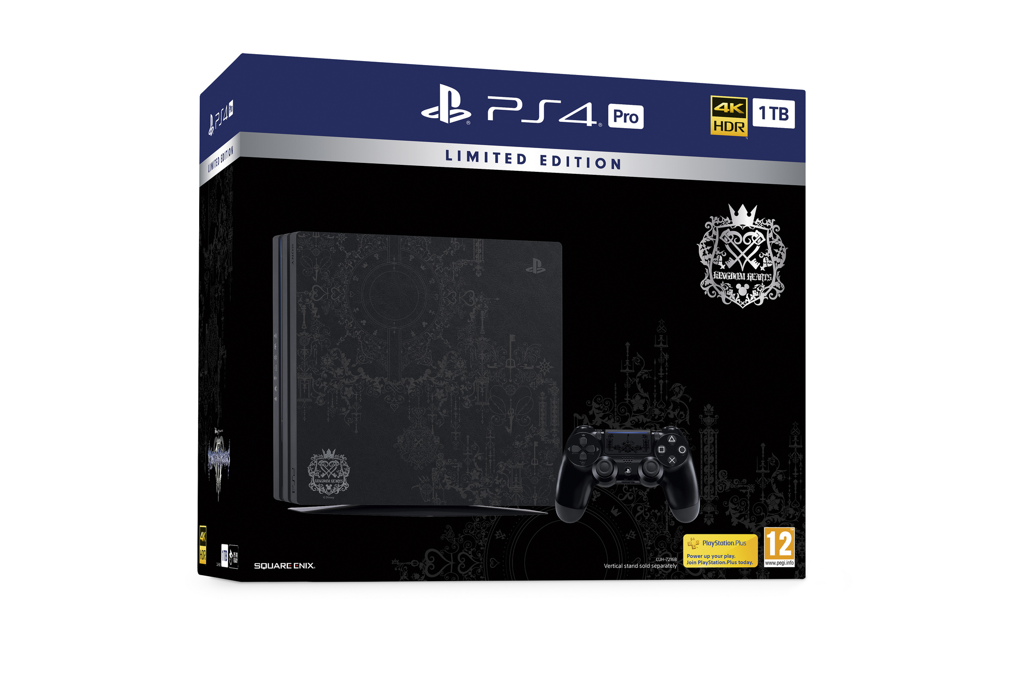 Kingdom Hearts PS4 Pro bundle box