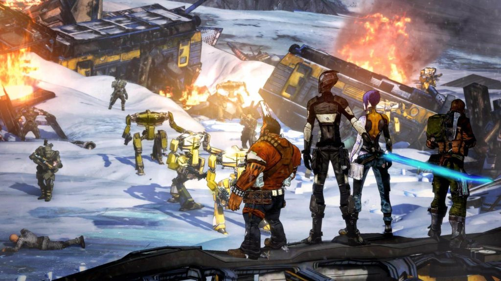 Borderlands 2 squad